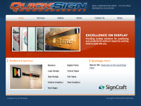 Online Signage for QuickSign of Sign Craft Industries