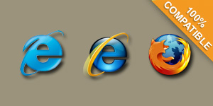 Picture of Cross Browser Compatible Browsers